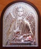 Серебряная икона Ангела Хранителя