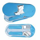 Valenti @ co детский набор ложечка и вилочка для мальчика купить