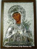серебряную икону богородицы купить